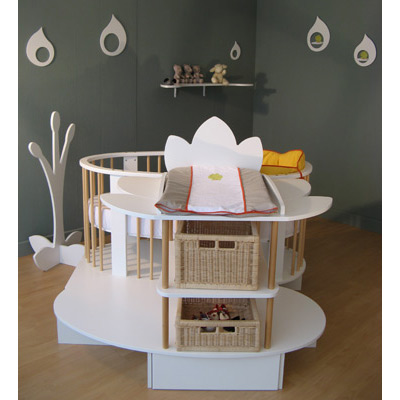 ensemble lit evolutif bebe pi ti li. Black Bedroom Furniture Sets. Home Design Ideas