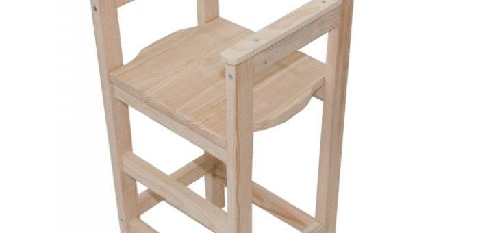 Chaise haute enfant en bois pi ti li for Chaise enfant voiture