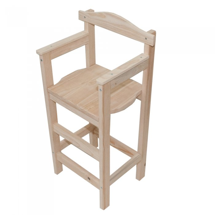 chaise haute enfant en bois - pi ti li