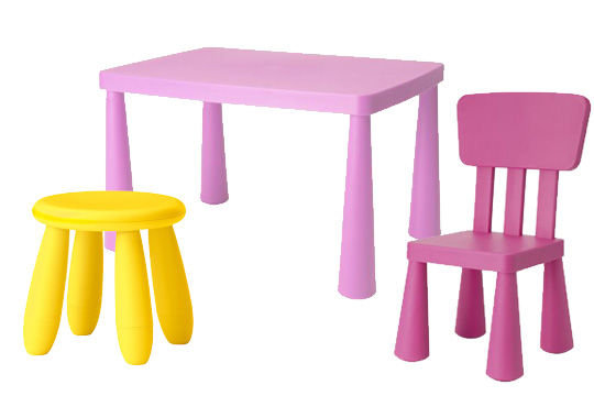 table et chaise enfant plastique pi ti li. Black Bedroom Furniture Sets. Home Design Ideas