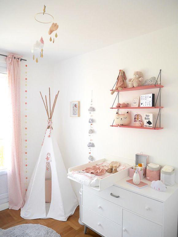 Décoration Chambre De Bébé Fille - Pi Ti Li