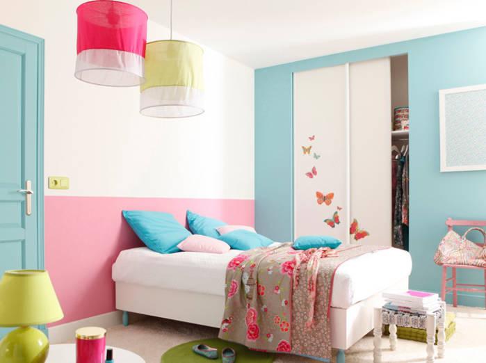 Chambre bebe turquoise et rose - Idées de tricot gratuit