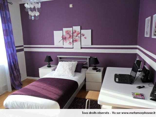 petite chambre ado fille moderne pi ti li. Black Bedroom Furniture Sets. Home Design Ideas