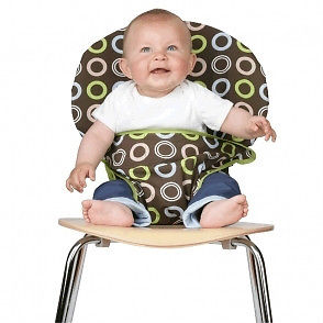 chaise haute portative tissu pi ti li. Black Bedroom Furniture Sets. Home Design Ideas