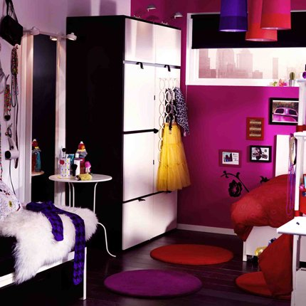 accessoire chambre fille ado pi ti li. Black Bedroom Furniture Sets. Home Design Ideas