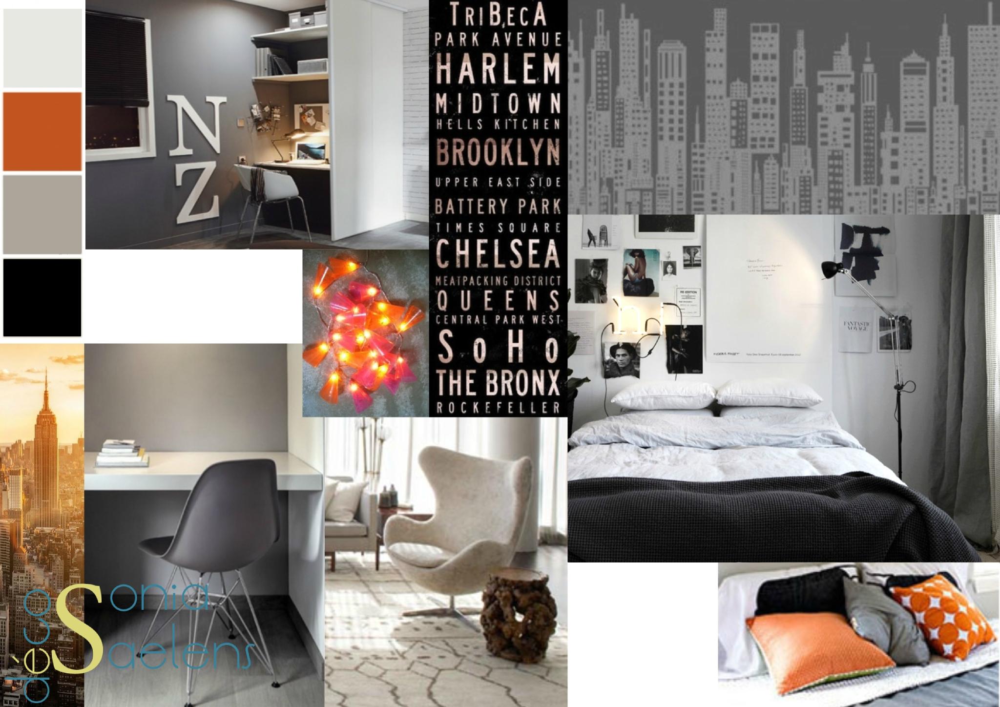awesome chambre ado noir et blanc garcon photos design