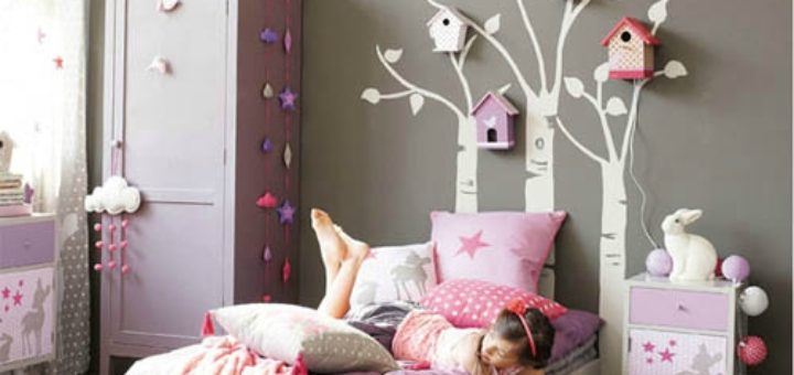 deco chambre fille 8 ans pi ti li. Black Bedroom Furniture Sets. Home Design Ideas