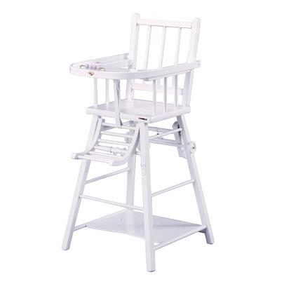 chaise haute en bois b b pi ti li. Black Bedroom Furniture Sets. Home Design Ideas