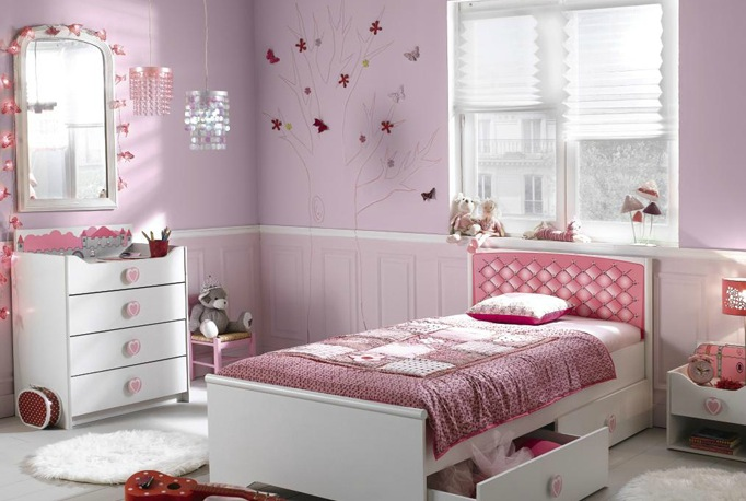 modele de chambre de fille ado pi ti li. Black Bedroom Furniture Sets. Home Design Ideas