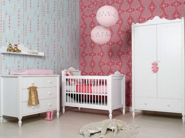 chambre bébé fille déco - pi ti li