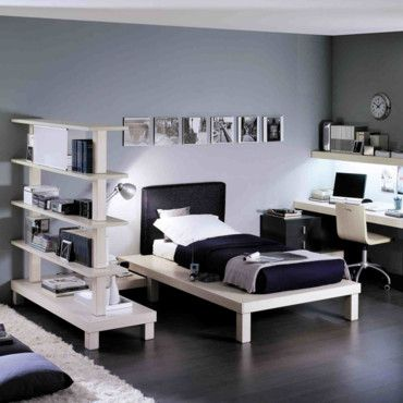 am nagement chambre ado gar on pi ti li. Black Bedroom Furniture Sets. Home Design Ideas