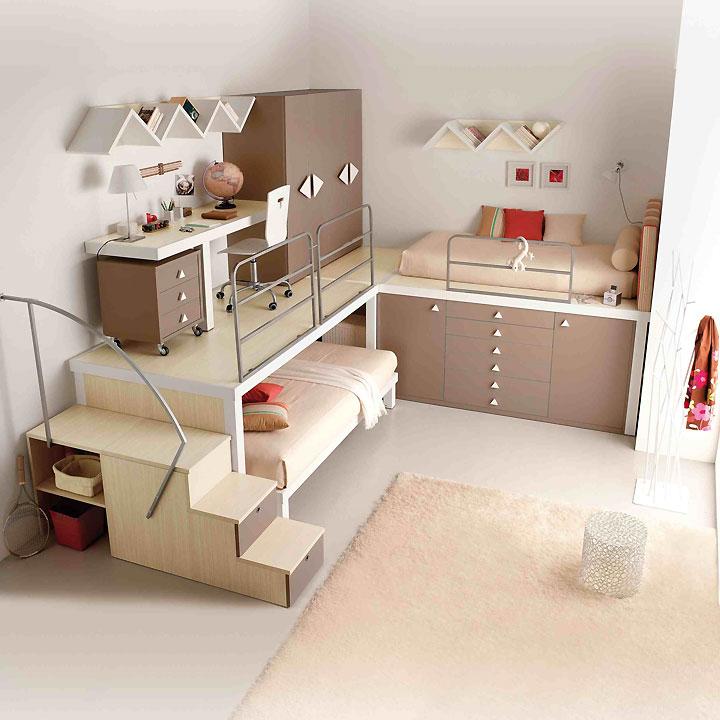 Idée de décoration de chambre d ado fille - pi ti li