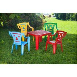 table plastique pour enfant pi ti li. Black Bedroom Furniture Sets. Home Design Ideas
