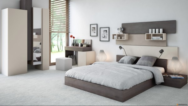 Awesome Idee Chambre Contemporary - Design Trends 2017 - paramsr.us