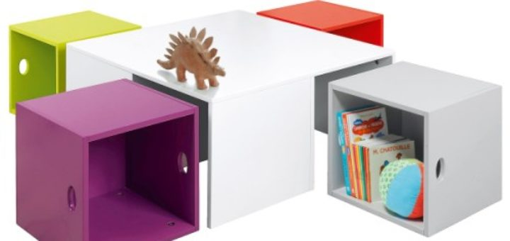 table rangement enfant pi ti li. Black Bedroom Furniture Sets. Home Design Ideas