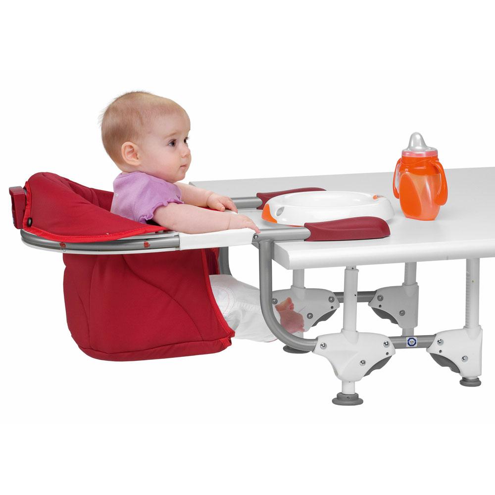 Chaise haute adaptable sur table pi ti li for Chaise enfant voiture