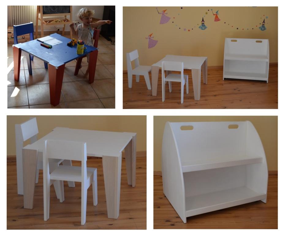 Fabriquer table enfant pi ti li for Table enfant fly