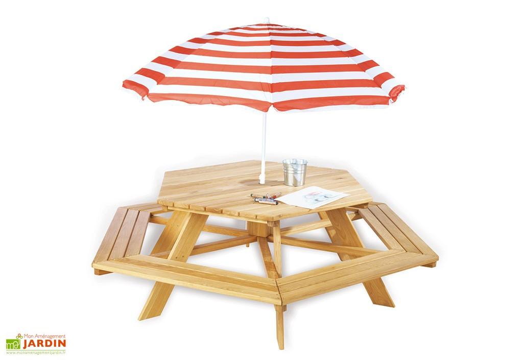 voici la slection de table pour enfant pour vous - Table Jardin Bois Enfant