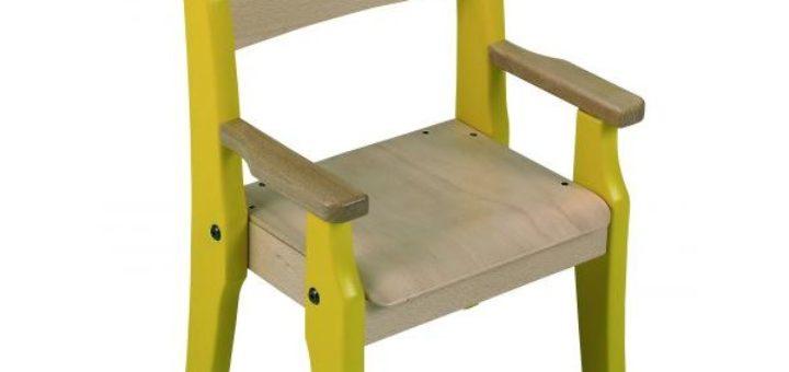 chaise enfant avec accoudoir pi ti li. Black Bedroom Furniture Sets. Home Design Ideas