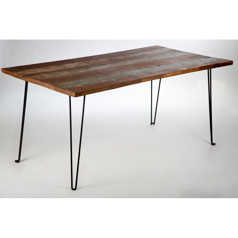 table bois pi ti li. Black Bedroom Furniture Sets. Home Design Ideas