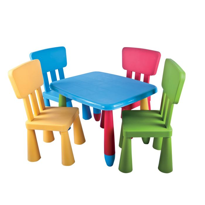 Chaise de table pour b b pi ti li - Set table enfant ...