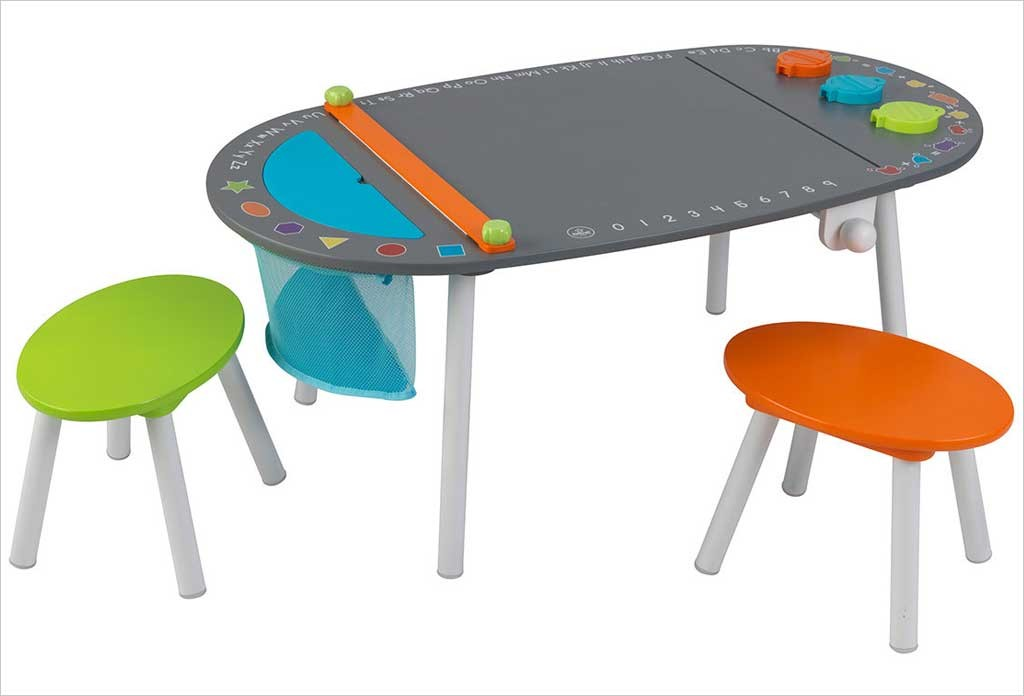 table a dessin enfant pi ti li. Black Bedroom Furniture Sets. Home Design Ideas