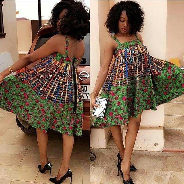 Fabulous Robe en pagne africain pour femme enceinte - pi ti li NX93