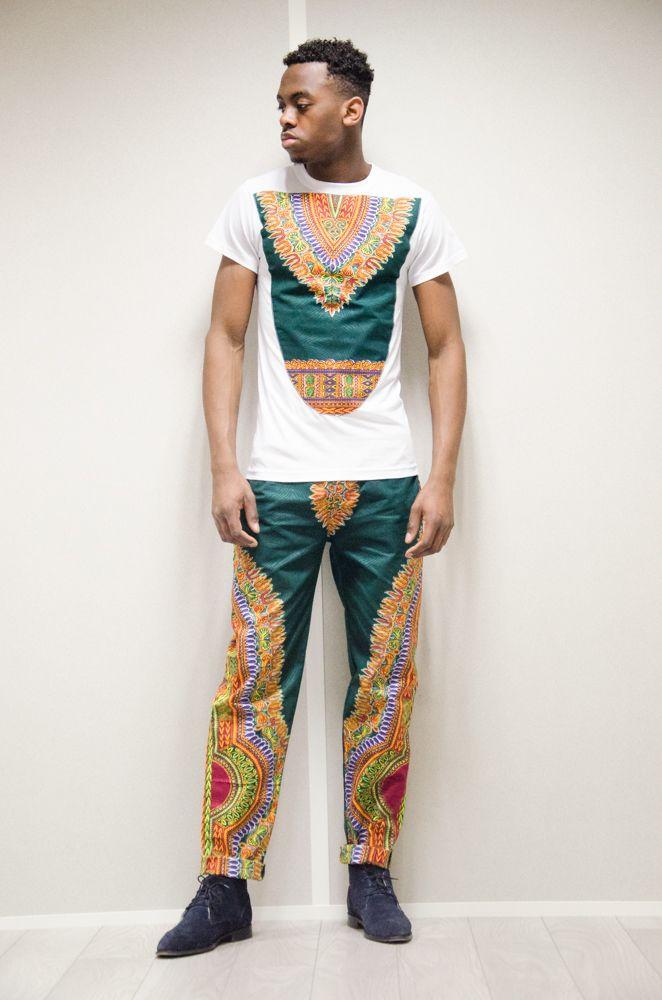 Ensemble en tissu pagne africain