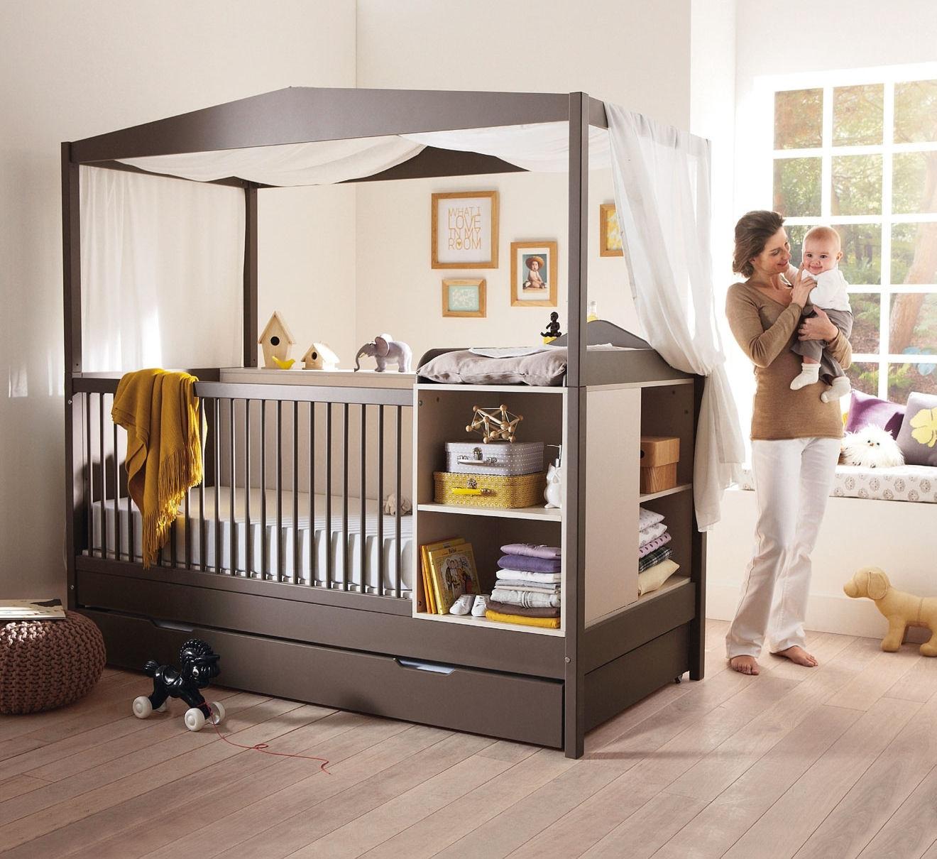 lit evolutif baldaquin pi ti li. Black Bedroom Furniture Sets. Home Design Ideas