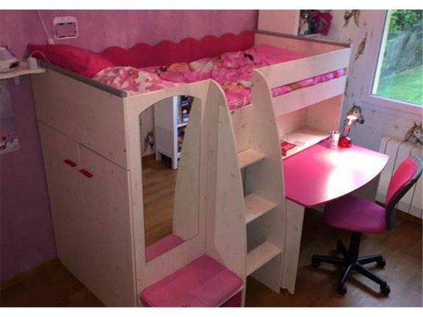lit enfant lilou pi ti li. Black Bedroom Furniture Sets. Home Design Ideas
