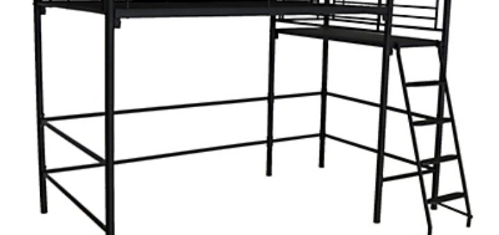 lit mezzanine 2 places pi ti li. Black Bedroom Furniture Sets. Home Design Ideas