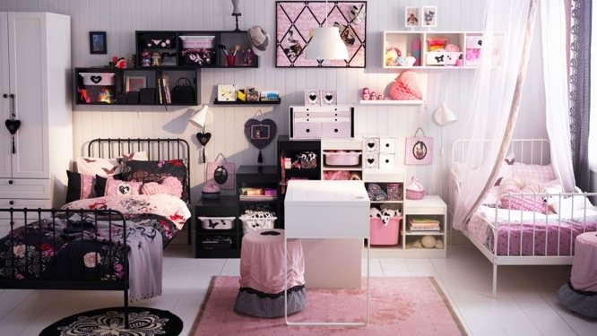 accessoire chambre fille pi ti li. Black Bedroom Furniture Sets. Home Design Ideas