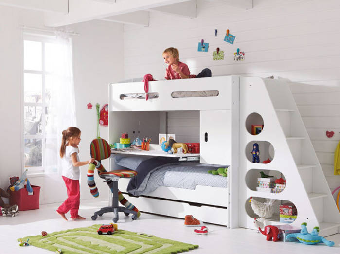 Amenagement chambre fille pi ti li - Amenagement chambre enfant ...