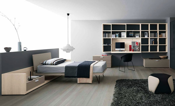 chambre pour garcon ado pi ti li. Black Bedroom Furniture Sets. Home Design Ideas