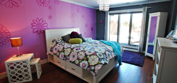 tapisserie chambre ado fille pi ti li. Black Bedroom Furniture Sets. Home Design Ideas