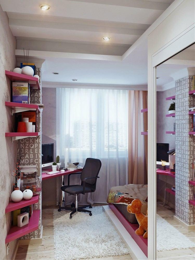 idee de deco pour chambre ado fille pi ti li. Black Bedroom Furniture Sets. Home Design Ideas
