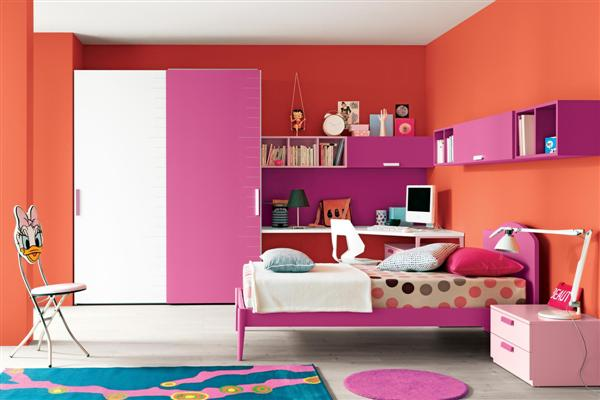 Decoration d une chambre de jeune fille - pi ti li