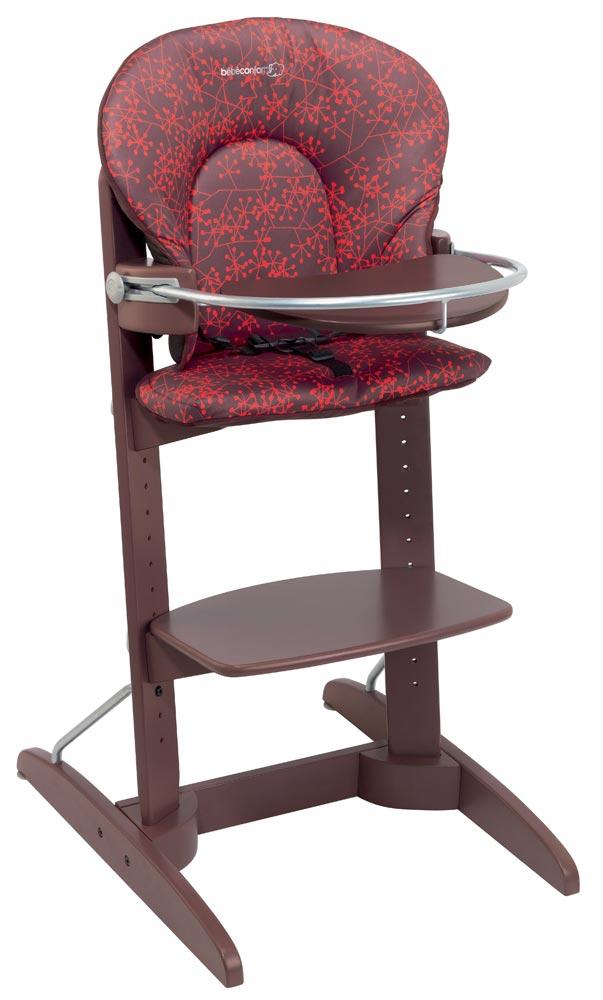Chaise haute b b confort bois pi ti li - Chaise haute bois bebe confort ...