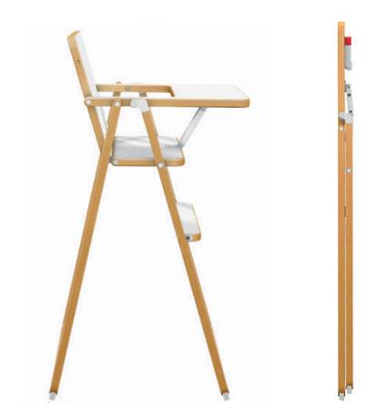 chaise haute pliante pi ti li. Black Bedroom Furniture Sets. Home Design Ideas