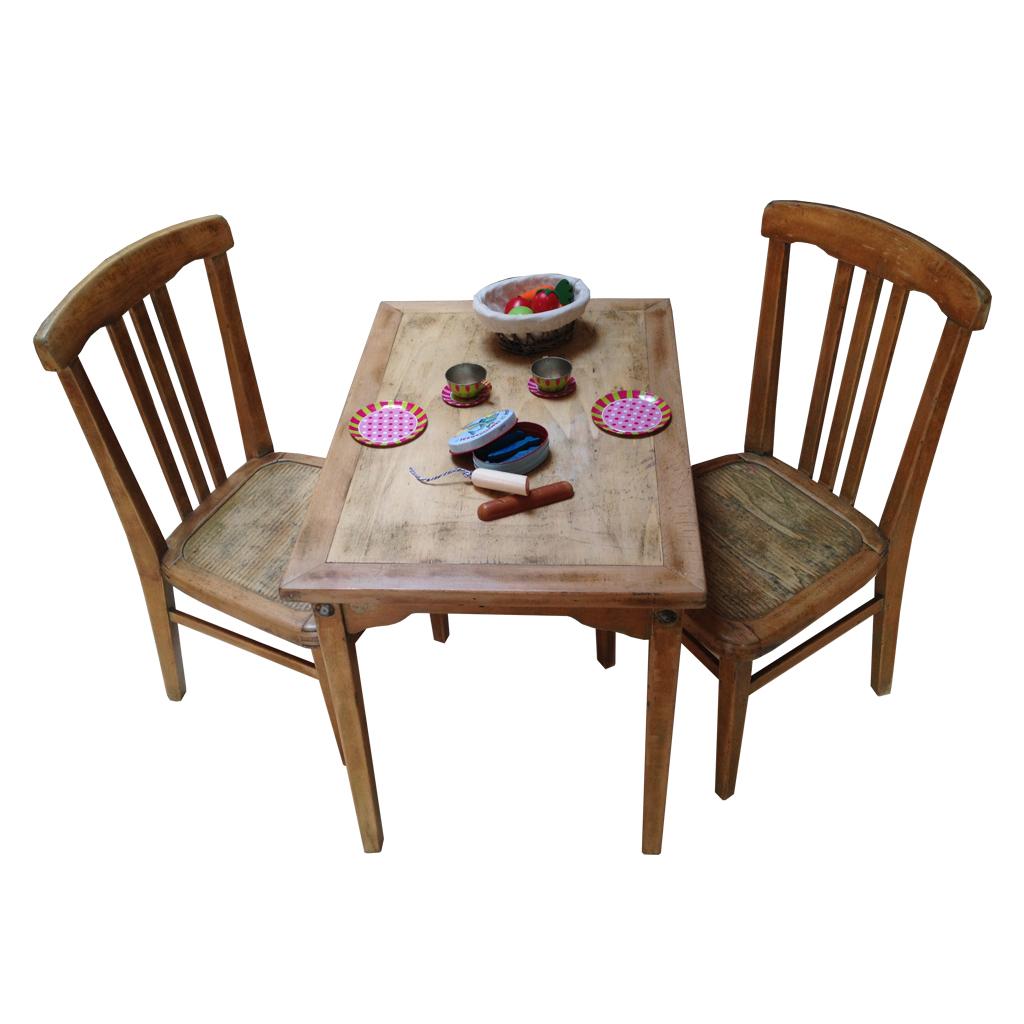 table et chaise bois enfant pi ti li. Black Bedroom Furniture Sets. Home Design Ideas