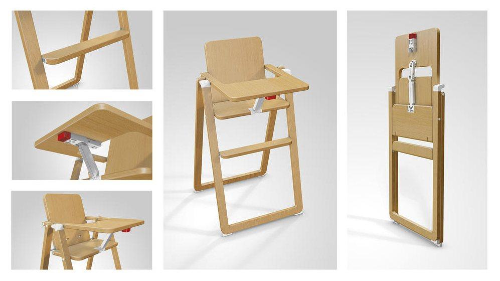 Chaise Haute Pliante Pi Ti Li