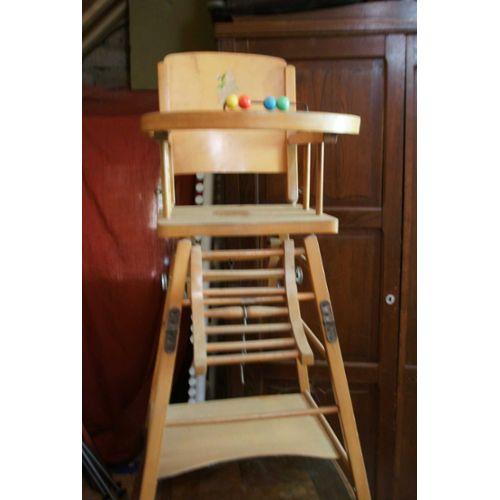chaise en bois b b pi ti li. Black Bedroom Furniture Sets. Home Design Ideas