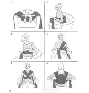6bd105b07b07 Comment nouer une écharpe de portage bébé - pi ti li