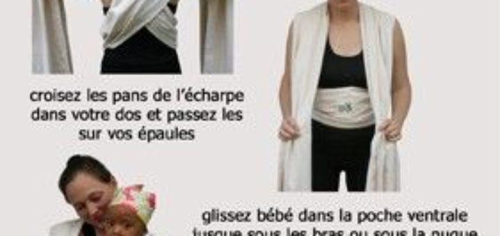 Technique de portage bébé - pi ti li 38fe7d7c1a6