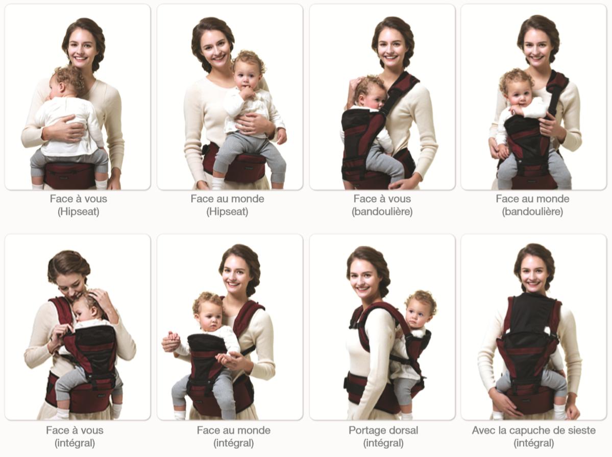 Porte bébé 1 mois - pi ti li fd6732e8439