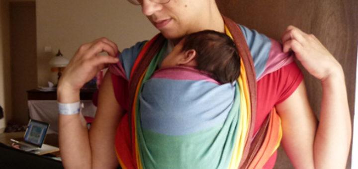 Voici la sélection d écharpe de portage bébé pour vous     . Echarpe portage  kangourou 5df3d2e9e0d