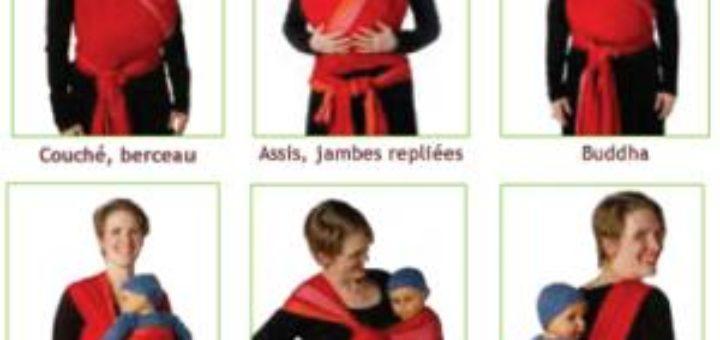6ef1feef514 Voici la sélection d écharpe de portage bébé pour vous