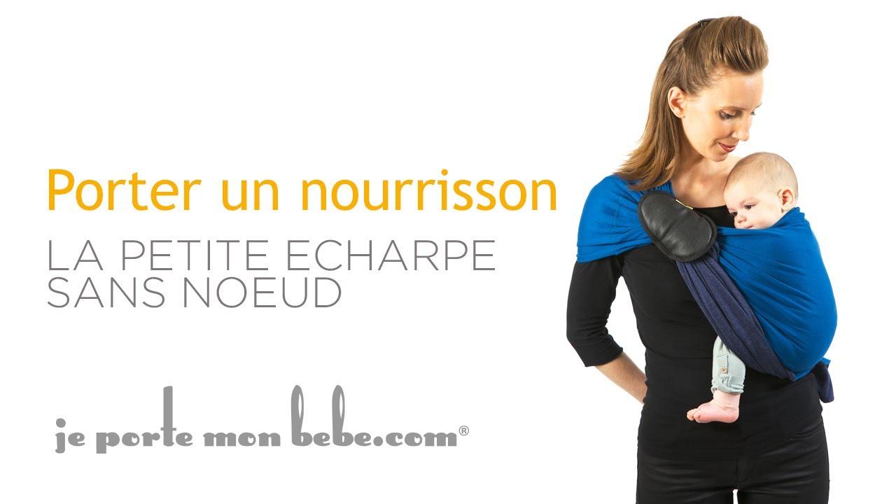 Voici la sélection d écharpe de portage bébé pour vous     . Porte bébé  sans noeud 771062ee1be