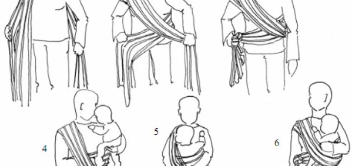 Technique echarpe de portage bebe - pi ti li 1ee80487d14
