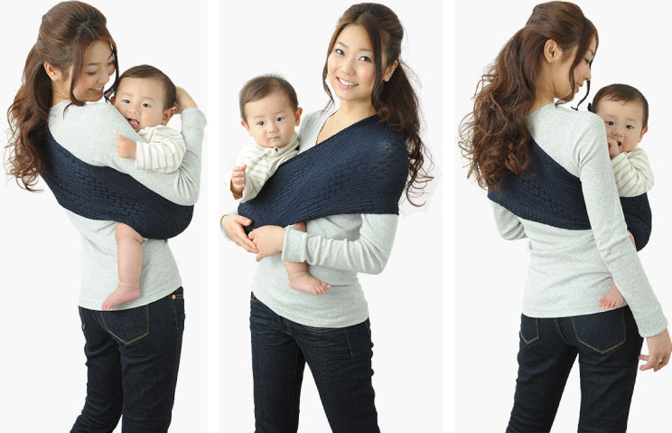 Porte bébé 2 bandeaux - pi ti li